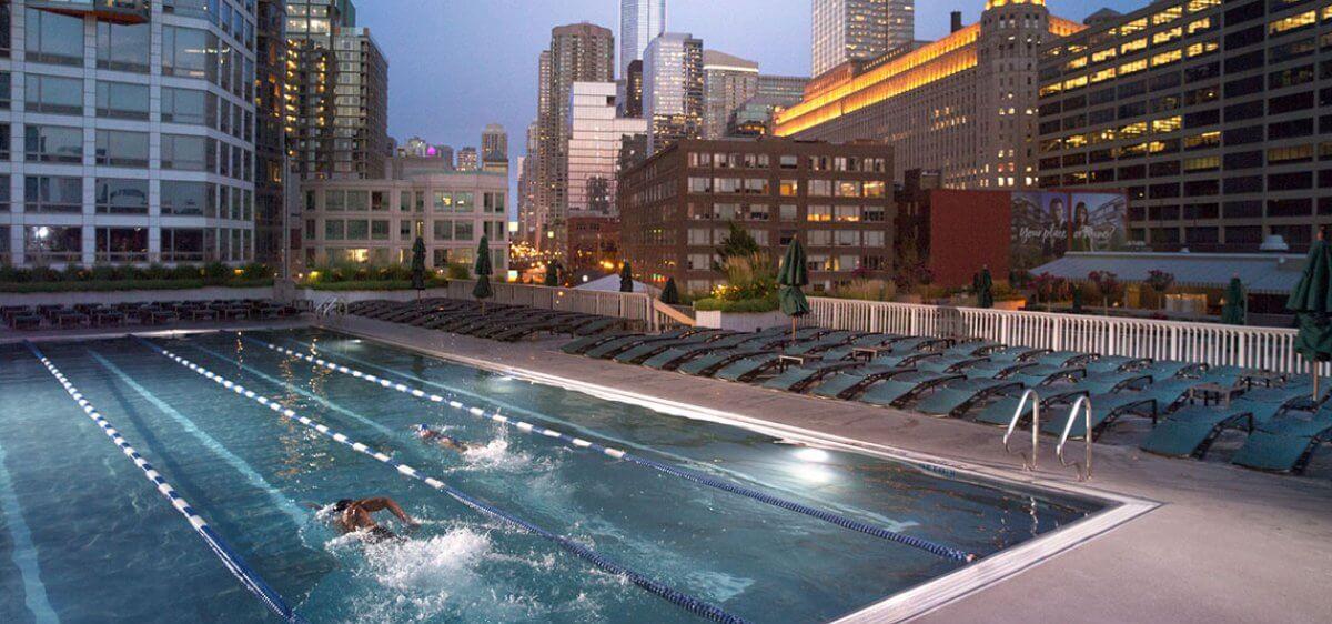 East Bank Club Outdoor Pool