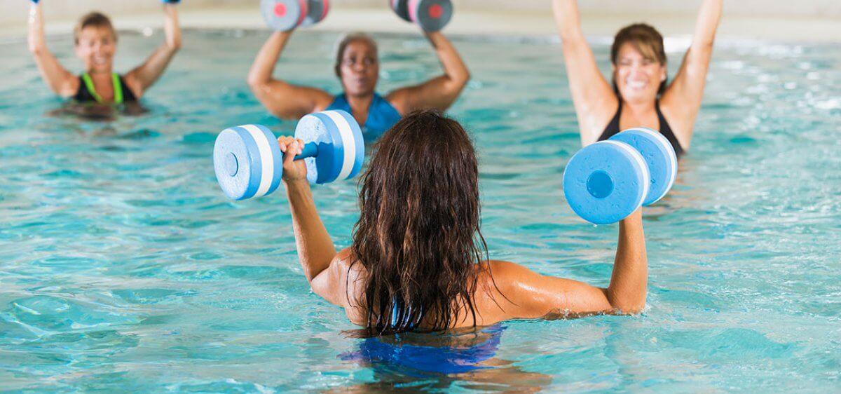 Water Aerobics at East Bank Club